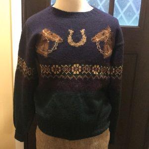 Vintage Wool Ralph Lauren Polo Sweater.